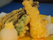 地魚の天ぷら