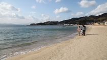 海が目の前!鹿島海水浴場