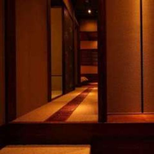 新客室の玄関