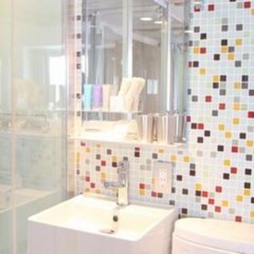 オシャレなタイル調 お部屋によってデザインが異なります