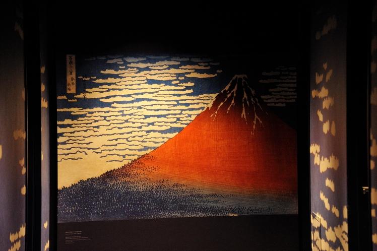 5F 凱風快晴:赤富士を選びました。