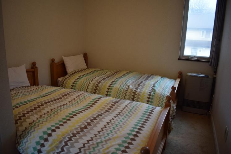 コテージ寝室一例