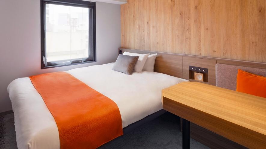 <客室>◆ダブル◆ 15平米【ベッド 幅160cm】