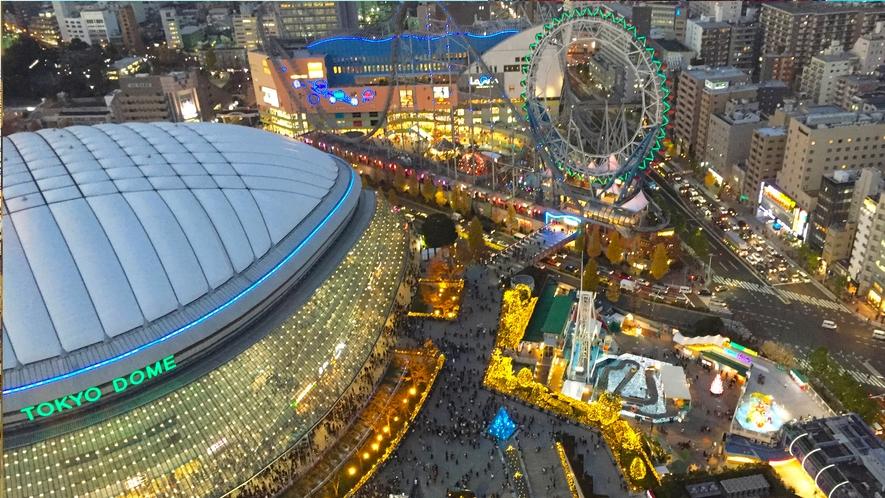 <周辺>東京ドーム(電車約15分)ライブやスポーツ観戦、ラクーア、遊園地で1日中楽しめます