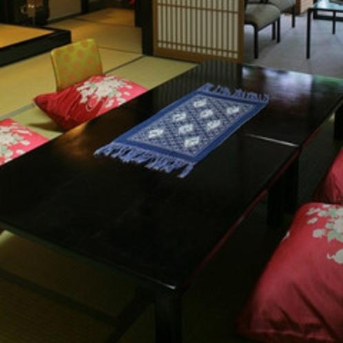 客室一例10畳〜12畳