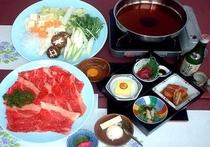 牛すきやき鍋膳