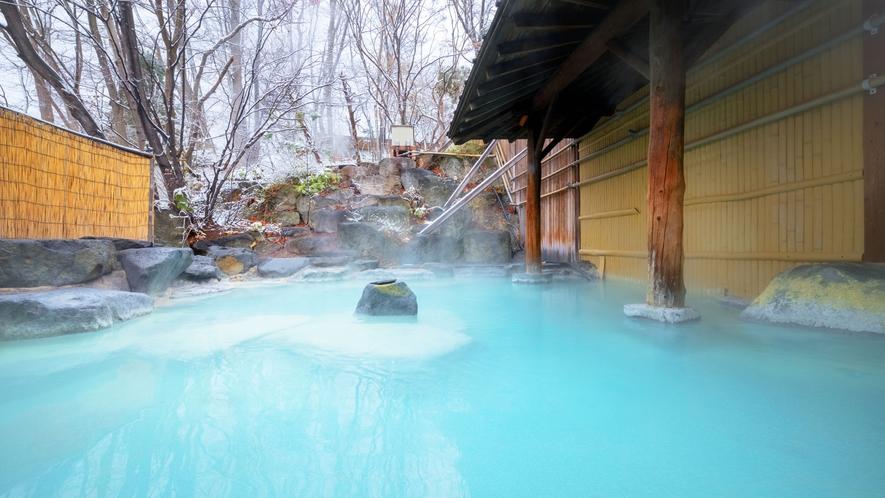 ご宿泊のお客様は24時間入浴OK!朝・夕・夜と時間によって異なるお湯景をお楽しみください