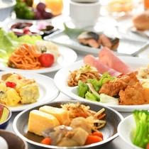 ■栄養満点 朝食バイキング■
