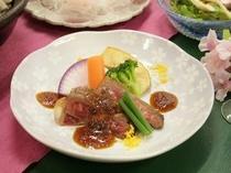 蔵王牛カットステーキ