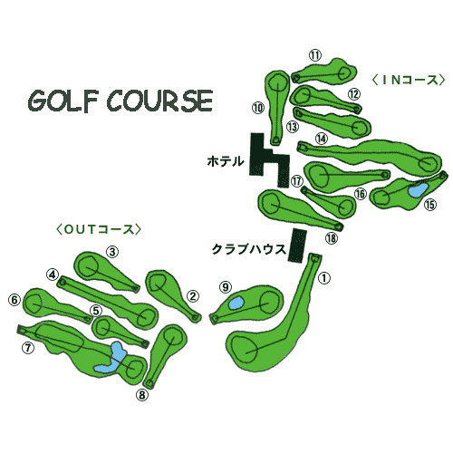 ◇ゴルフコースマップ