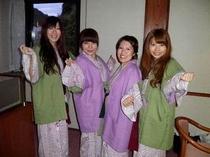 大阪からお越しの女子会の皆様