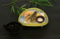天婦羅(車海老・茶扇茄子・薩摩芋)