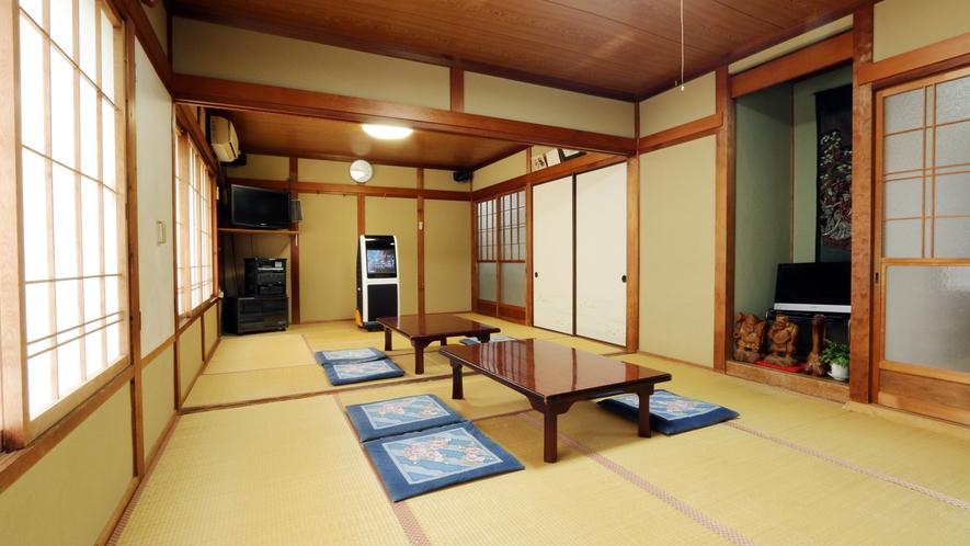 ◆食事処・宴会場 広いお部屋のご用意もございます。