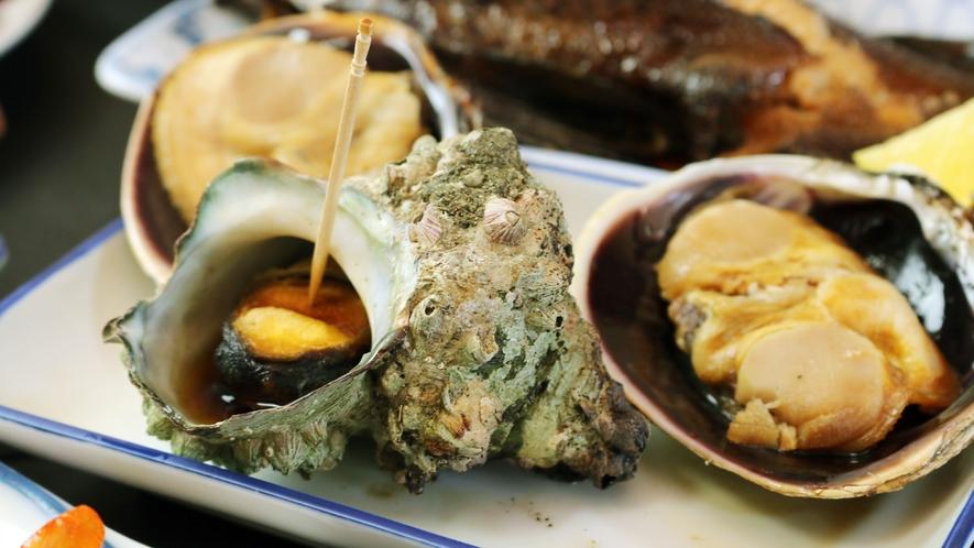 ◆貝調理 日間賀島では貝もおすすめの食材です!