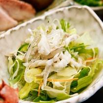 湯引サラダ