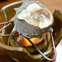 サザエのつぼ焼き(夕食一例)