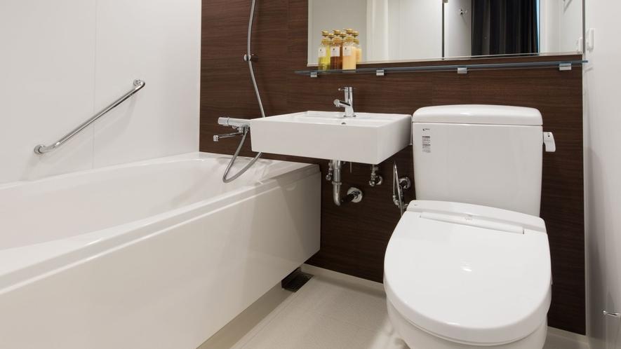 スタンダードツイン バスルーム一例