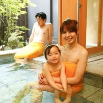 新館「陽邸 さなえ田」清涼の湯は家族様に人気♪