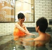 畳敷き「竹泉の湯」