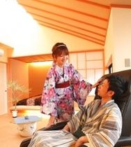 新館「陽邸 さなえ田」客室