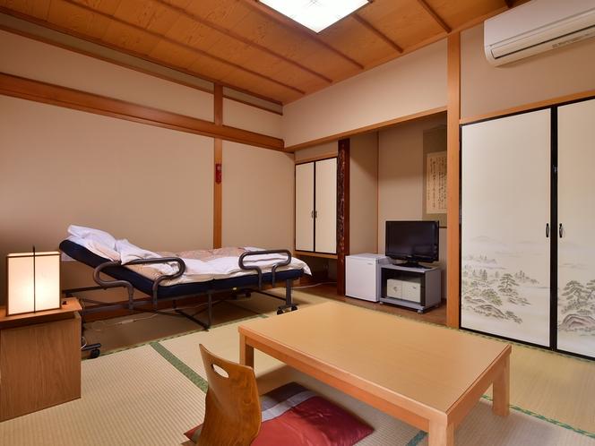 和室には簡易ベッドのご用意も可能です