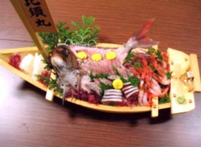 舟盛料理例
