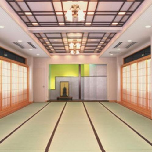 *宴会場(和室)/歓送迎会・観桜会・忘新年会など、各種宴会承っております。