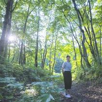 【初夏】ホテル周辺には自然がいっぱい。散策をお楽しみください