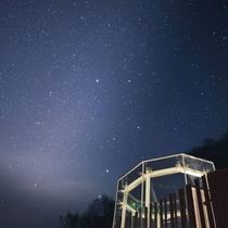 流星ドームで満天の星空をご覧ください。