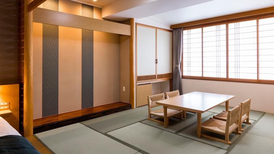 【スタンダード和洋室】和室部分はゆったり10畳の広さです