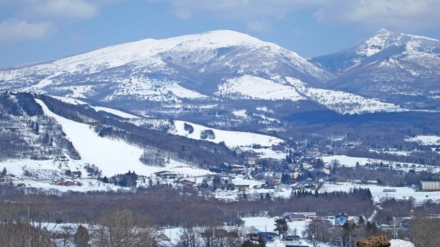 *【周辺/冬期】ゲレンデが目の前!抜群のパウダースノーが楽しめます。