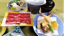 【夕食一例】スキーパックのお料理
