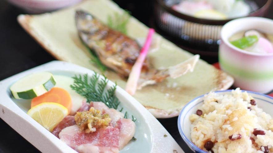 *【いつき会席】季節の食材を使ったボリュームのある料理をご賞味下さい(冬一例)