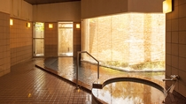 *【大浴場】ぬるぬるとした触感が特徴のアルカリ性天然温泉です