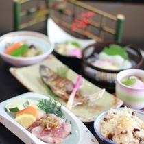 【いつき会席】季節の食材を使ったボリュームのある料理をご賞味下さい(冬一例)