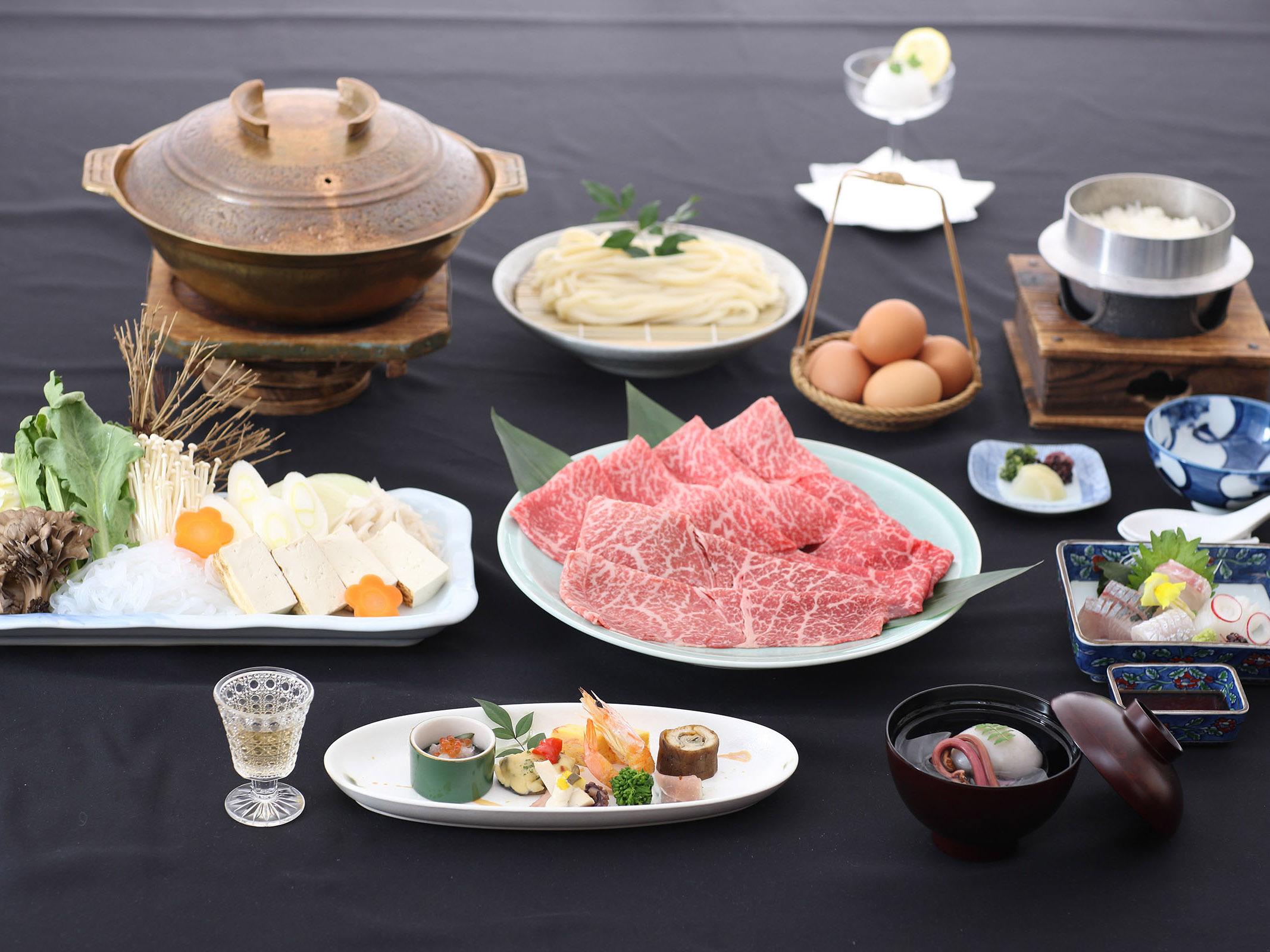 広島牛すき焼き懐石イメージ