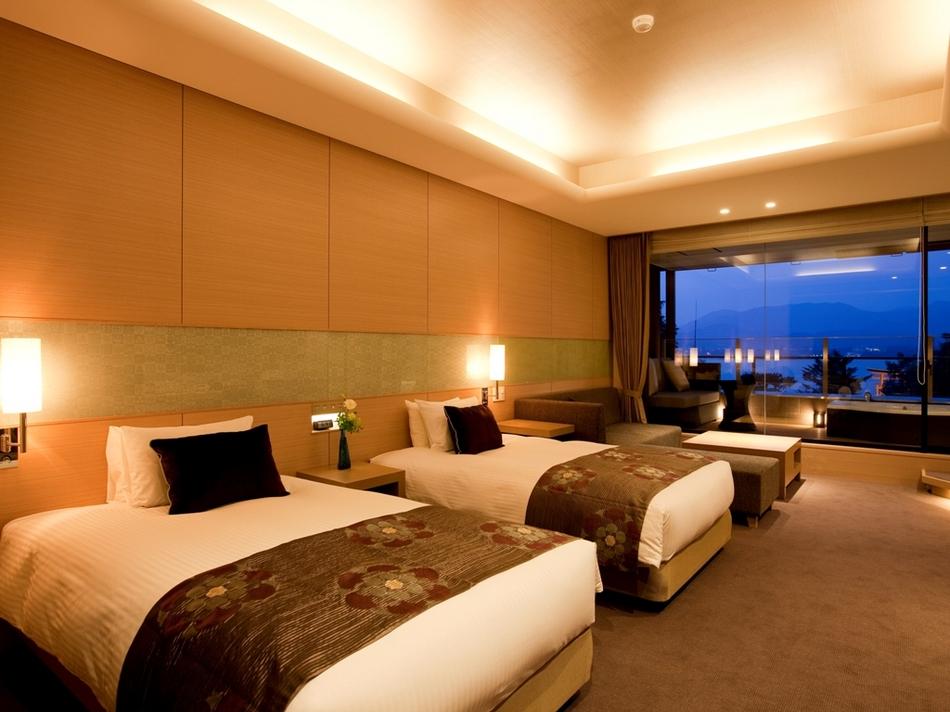 72m2の広々空間を贅沢に過ごすスイートルーム