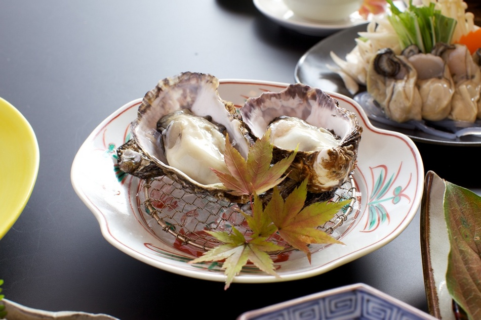 かき小町を酢牡蠣で