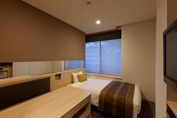 【朝食付き】シングルルームに泊まるプラン◆ビジネス、小旅行に最適。コンパクトなお部屋◆クレジット限定