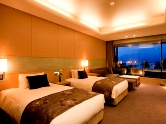 72㎡の広々空間を贅沢に過ごすスイートルーム