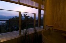 神社側露天風呂付客室