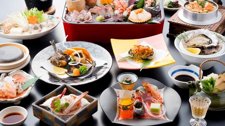 瀬戸内海の幸を盛り込んだ懐石料理 個室料亭懐石