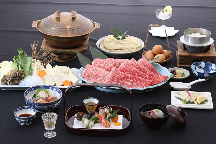 特選広島牛すき焼き懐石イメージ
