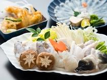 新鮮さが違う活かし河豚、穴子、そして宮島牡蠣