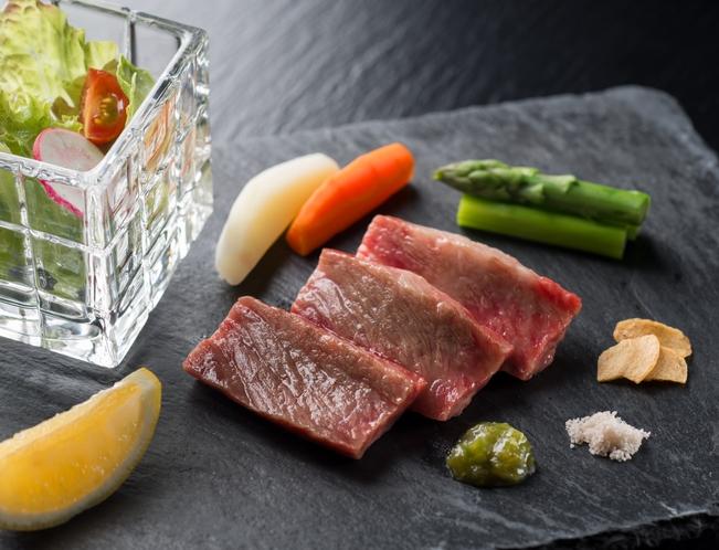 広島牛お料理一例