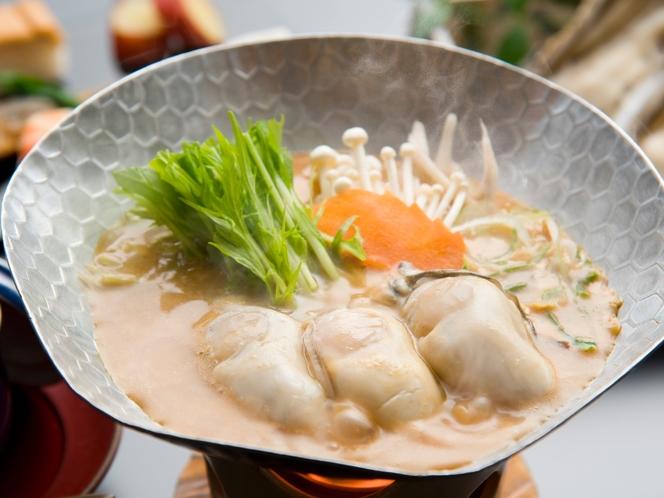 宮島産牡蠣鍋合わせ味噌仕立て