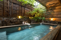 大浴場 露天風呂 一例