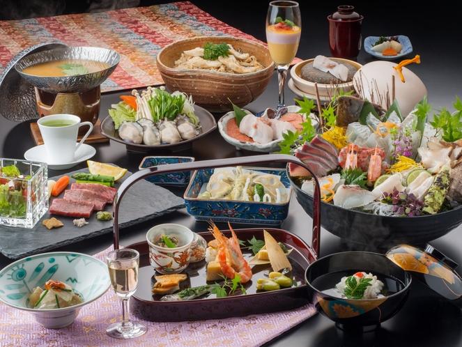 料亭華楽夕食お料理イメージ