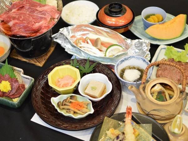 味覚コースお料理