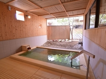 一階湯殿「くつろぎ」露天風呂